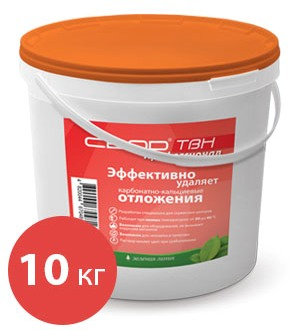 """CBOD-TBH"" Professional to remove calcium-carbonate deposits, 10 kg"