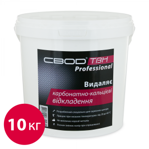 """SVOD-TVN"" Professional to remove calcium-carbonate deposits, 10 kg"